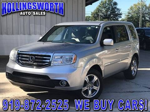 2013 Honda Pilot for sale at Hollingsworth Auto Sales in Raleigh NC