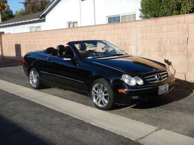 2006 Mercedes-Benz CLK for sale at California Cadillac & Collectibles in Los Angeles CA