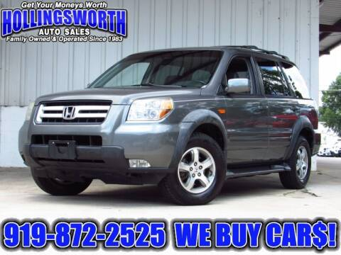 2007 Honda Pilot for sale at Hollingsworth Auto Sales in Raleigh NC