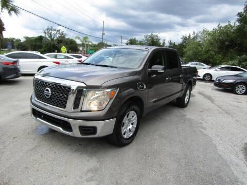 2017 Nissan Titan for sale at S & T Motors in Hernando FL