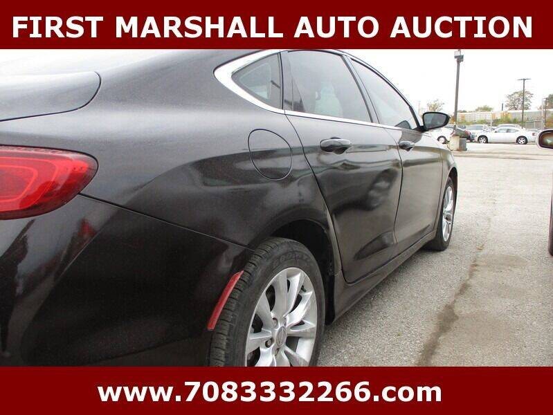 2015 Chrysler 200 C 4dr Sedan - Harvey IL