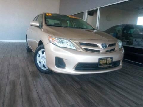 2011 Toyota Corolla for sale at Golden State Auto Inc. in Rancho Cordova CA