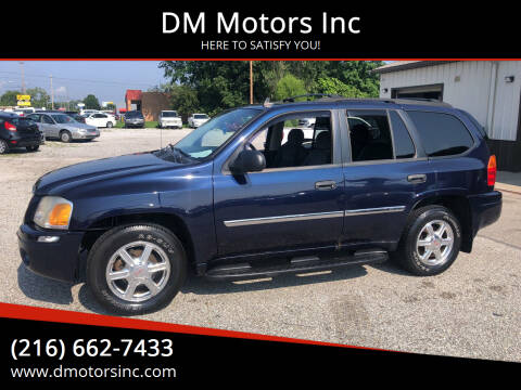 2008 GMC Envoy for sale at DM Motors Inc in Maple Heights OH
