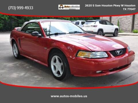 2000 Ford Mustang for sale at AUTOS-MOBILES in Houston TX