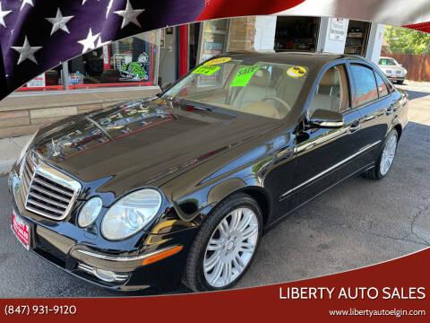2008 Mercedes-Benz E-Class for sale at Liberty Auto Sales in Elgin IL