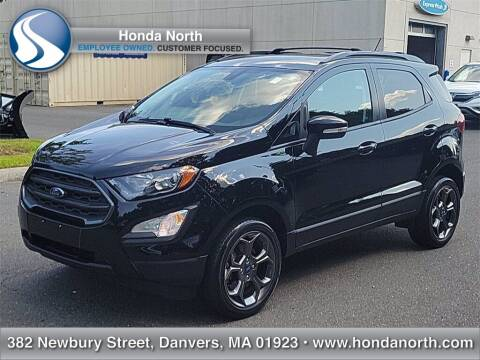 2018 Ford EcoSport for sale at 1 North Preowned in Danvers MA