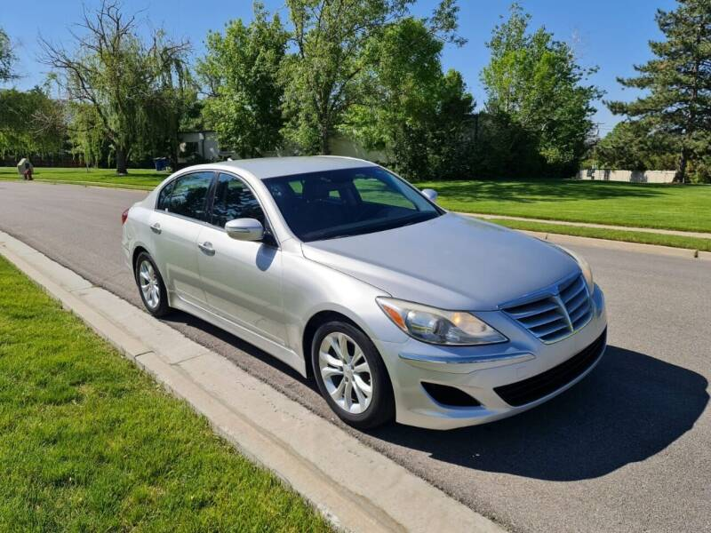 2013 Hyundai Genesis for sale at A.I. Monroe Auto Sales in Bountiful UT