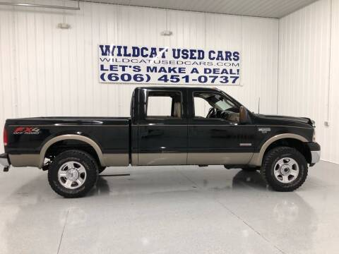 2007 Ford F-250 Super Duty for sale at Wildcat Used Cars in Somerset KY