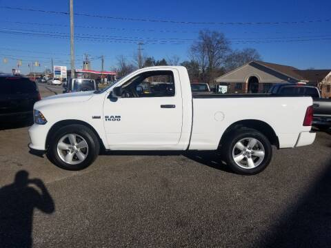 2013 RAM Ram Pickup 1500 for sale at 4M Auto Sales | 828-327-6688 | 4Mautos.com in Hickory NC