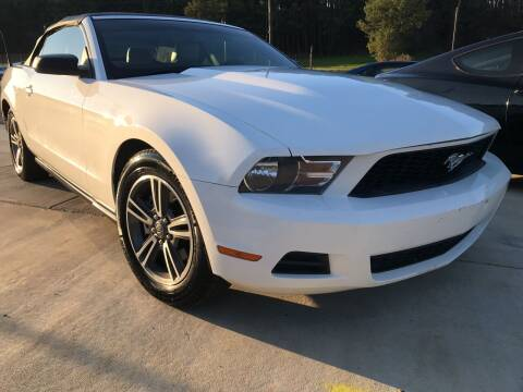 2012 Ford Mustang for sale at Alpha Car Land LLC in Snellville GA