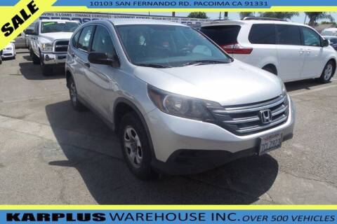 2013 Honda CR-V for sale at Karplus Warehouse in Pacoima CA