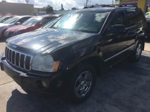 2007 Jeep Grand Cherokee for sale at Trans Copacabana Auto Sales in Hollywood FL