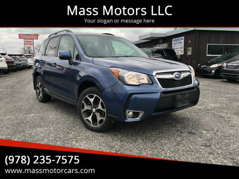 2014 Subaru Forester for sale at Mass Motors LLC in Worcester MA