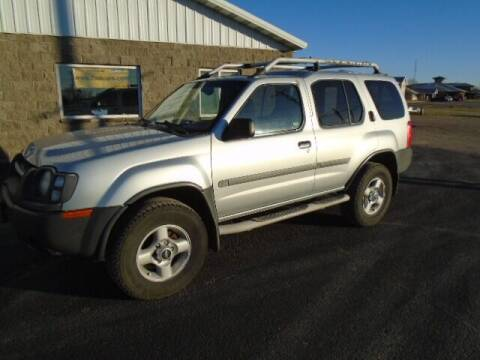 2002 Nissan Xterra for sale at SWENSON MOTORS in Gaylord MN