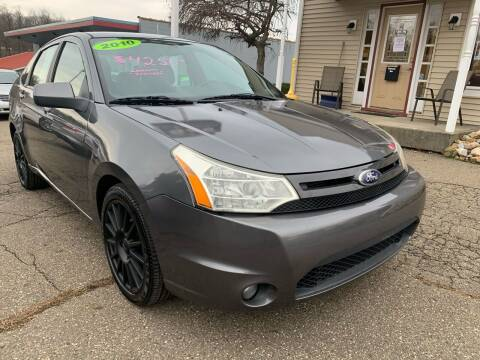 2010 Ford Focus for sale at G & G Auto Sales in Steubenville OH