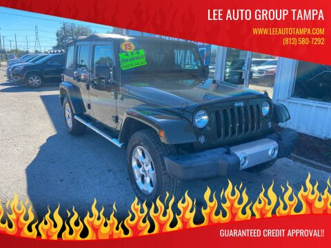 2015 Jeep Wrangler Unlimited for sale at Lee Auto Group Tampa in Tampa FL