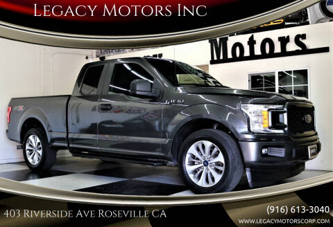 2018 Ford F-150 for sale at Legacy Motors Inc in Roseville CA