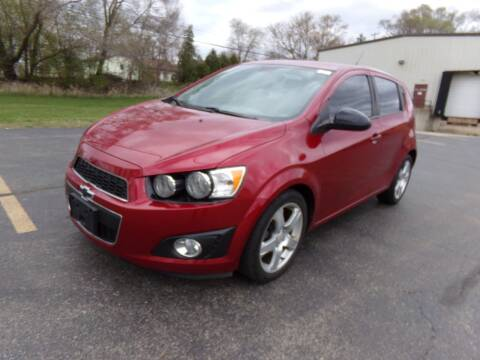 2012 Chevrolet Sonic for sale at Rose Auto Sales & Motorsports Inc in McHenry IL