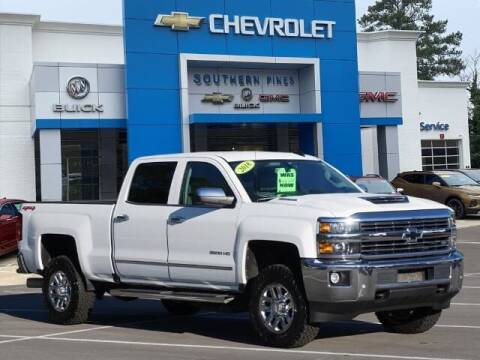2018 Chevrolet Silverado 2500HD for sale at PHIL SMITH AUTOMOTIVE GROUP - SOUTHERN PINES GM in Southern Pines NC