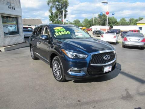2017 Infiniti QX60 for sale at Auto Land Inc in Crest Hill IL