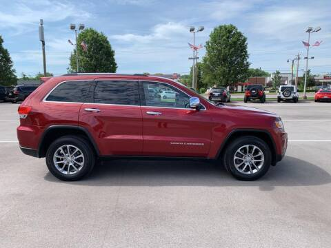 2015 Jeep Grand Cherokee for sale at St. Louis Used Cars in Ellisville MO
