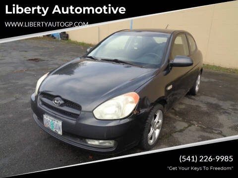 2007 Hyundai Accent for sale at Liberty Automotive in Grants Pass OR