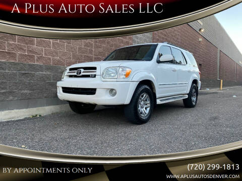 2005 Toyota Sequoia for sale at A Plus Auto Sales LLC in Denver CO