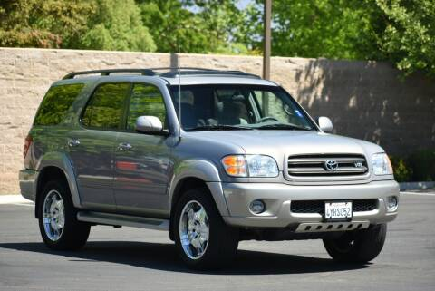 2002 Toyota Sequoia for sale at Sac Truck Depot in Sacramento CA