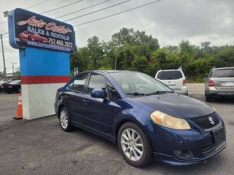 2008 Suzuki SX4 for sale at Auto Outlet Sales and Rentals in Norfolk VA
