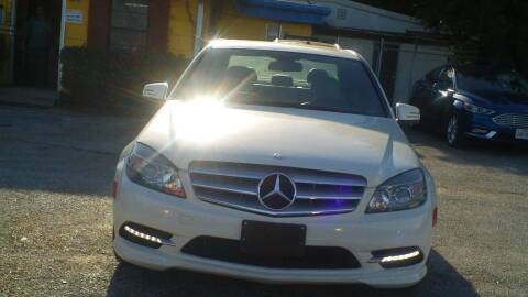2011 Mercedes-Benz C-Class for sale at Global Vehicles,Inc in Irving TX