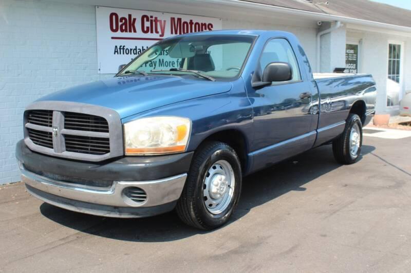 2006 Dodge Ram Pickup 2500 for sale at Oak City Motors in Garner NC