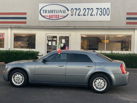2006 Chrysler 300 for sale at Traditional Autos in Dallas TX