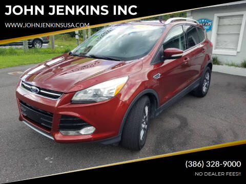 2014 Ford Escape for sale at JOHN JENKINS INC in Palatka FL