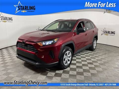 2019 Toyota RAV4 for sale at Pedro @ Starling Chevrolet in Orlando FL