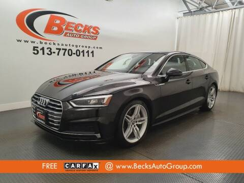 2018 Audi A5 Sportback for sale at Becks Auto Group in Mason OH