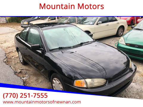 2001 Mitsubishi Mirage for sale at Mountain Motors in Newnan GA