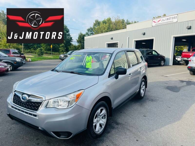 2014 Subaru Forester for sale at J & J MOTORS in New Milford CT