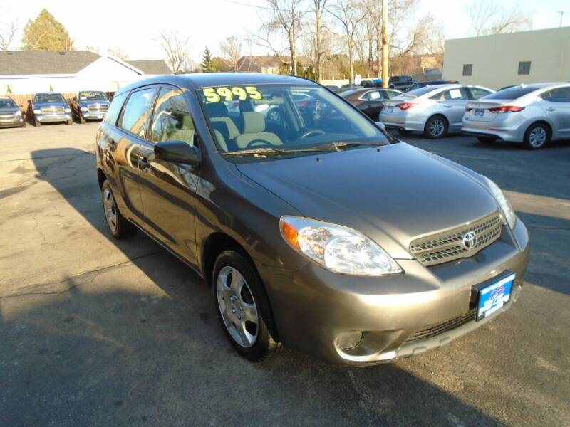 2006 Toyota Matrix for sale at DISCOVER AUTO SALES in Racine WI