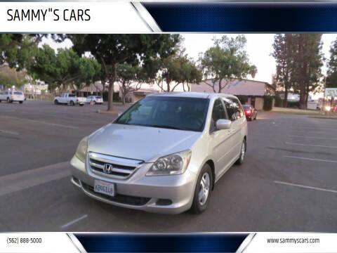 """2007 Honda Odyssey for sale at SAMMY""""S CARS in Bellflower CA"""