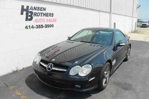2005 Mercedes-Benz SL-Class for sale at HANSEN BROTHERS AUTO SALES in Milwaukee WI