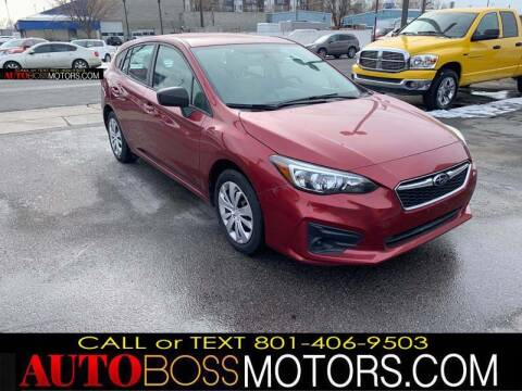 2019 Subaru Impreza for sale at Auto Boss in Woodscross UT