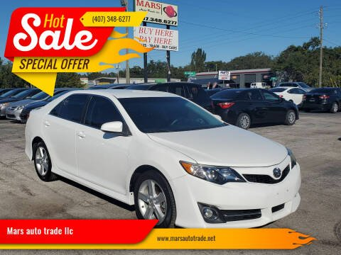 2013 Toyota Camry for sale at Mars auto trade llc in Kissimmee FL