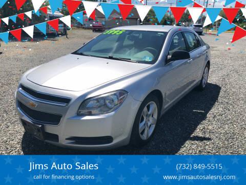 2011 Chevrolet Malibu for sale at Jims Auto Sales in Lakehurst NJ