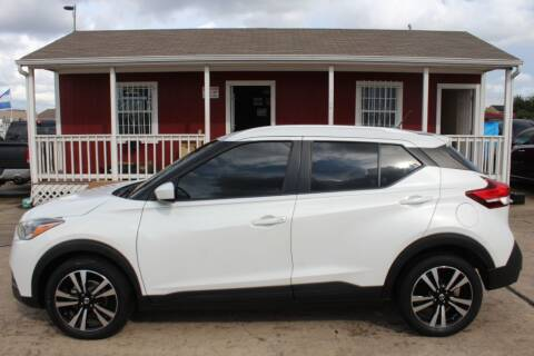 2018 Nissan Kicks for sale at AMT AUTO SALES LLC in Houston TX