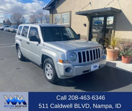 2008 Jeep Patriot for sale at Western Mountain Bus & Auto Sales in Nampa ID