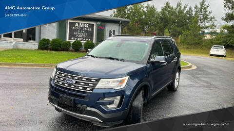 2017 Ford Explorer for sale at AMG Automotive Group in Cumming GA