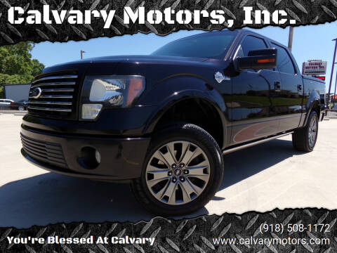 2010 Ford F-150 for sale at Calvary Motors, Inc. in Bixby OK