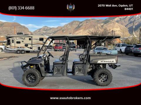 2011 Polaris Ranger Crew 800 EPS for sale at S S Auto Brokers in Ogden UT