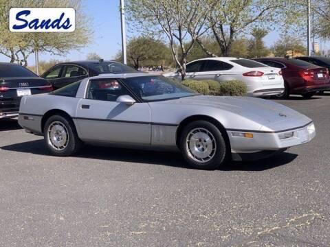 1986 Chevrolet Corvette for sale at Sands Chevrolet in Surprise AZ