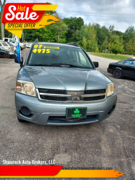 2007 Mitsubishi Endeavor for sale at Shamrock Auto Brokers, LLC in Belmont NH